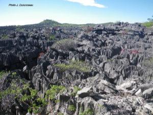 Tsingy in Ankarana range to Madagascar