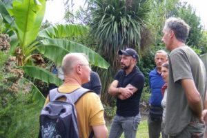 1.Avant l'AG, visite du Jardin Cosy Home sous la conduite de Franck Durand